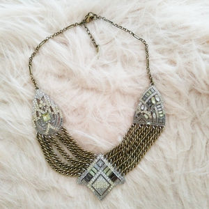 Chloe + Isabel Jewelry - Art Deco Chain Swag Statement Necklace
